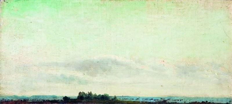 Пейзаж. Дали. 1880-е. Исаак Ильич Левитан