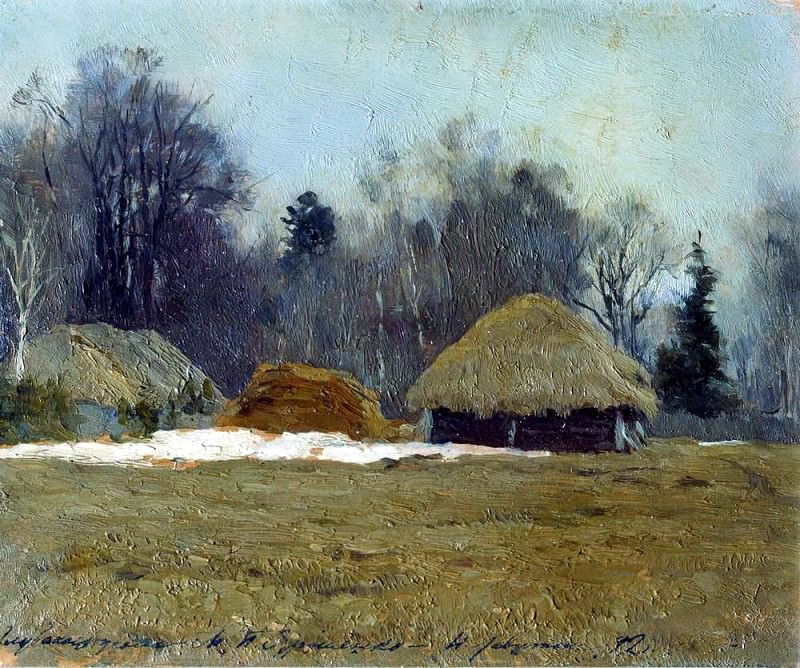 Early spring. 1892. Isaac Ilyich Levitan