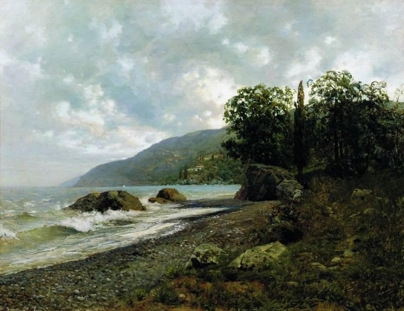 Crimean landscape. 1887. Isaac Ilyich Levitan