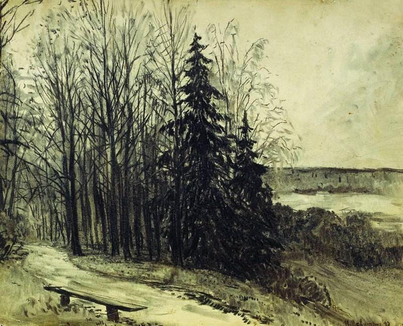 Пейзаж. 1892. Исаак Ильич Левитан