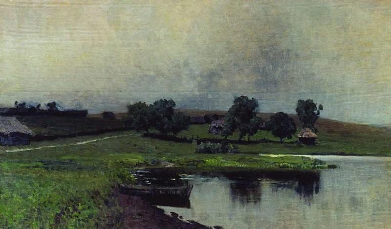 Пасмурный день. 1890-е. Исаак Ильич Левитан