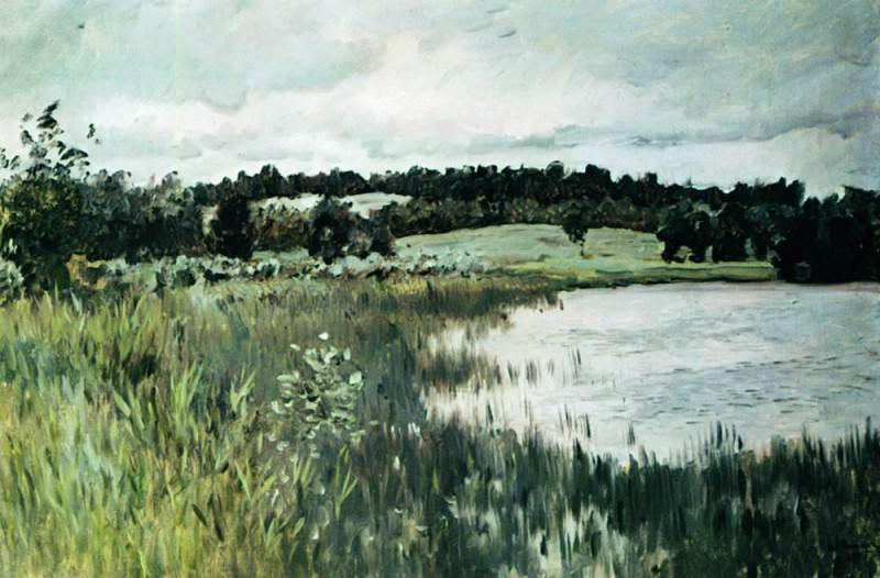 Grey day. 1895. Isaac Ilyich Levitan