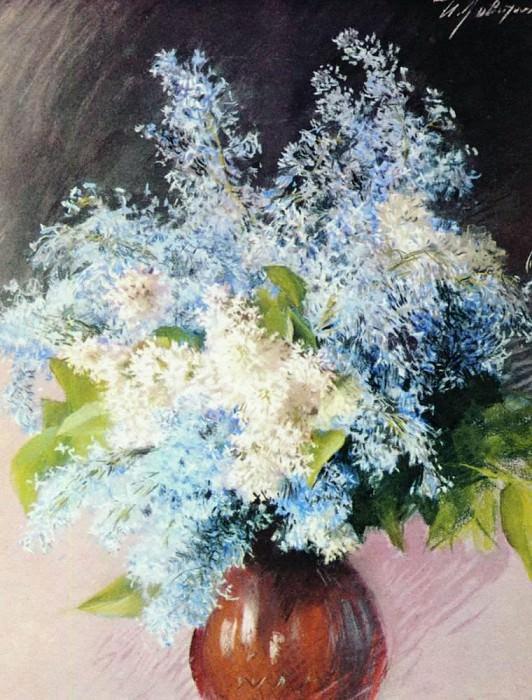 Lilac. 1893. Isaac Ilyich Levitan