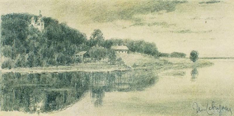 Pool. End of 1880. Isaac Ilyich Levitan
