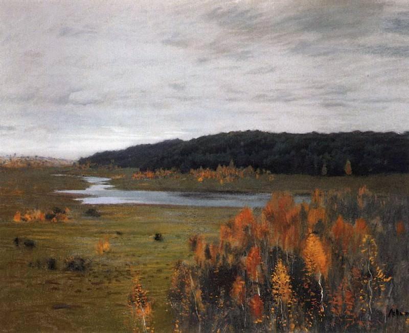 Autumn. River Valley. 1896. Isaac Ilyich Levitan