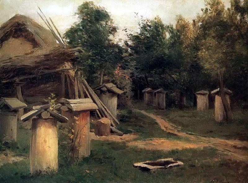Пчельник. 1880-е. Исаак Ильич Левитан