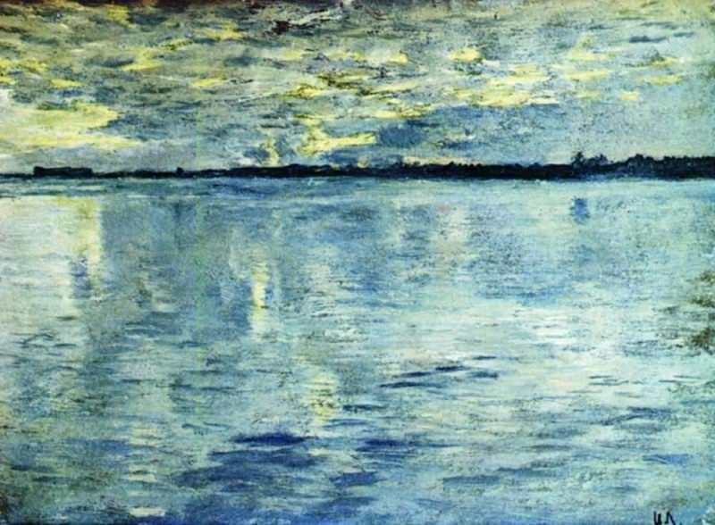 Lake. Evening. 1898-1899. Isaac Ilyich Levitan