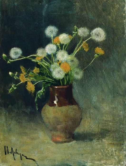 Dandelions. 1889. Isaac Ilyich Levitan