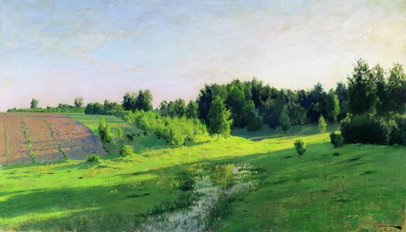 Evening shadows. 1891-1894. Isaac Ilyich Levitan