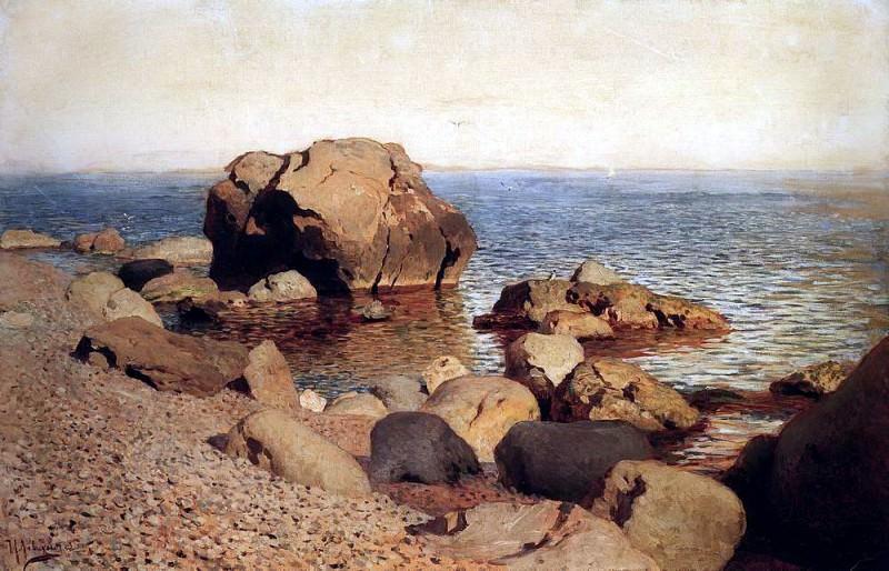 For the sea. Crimea. 1886. Isaac Ilyich Levitan