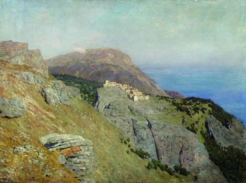 Cornish. South of France. 1895. Isaac Ilyich Levitan