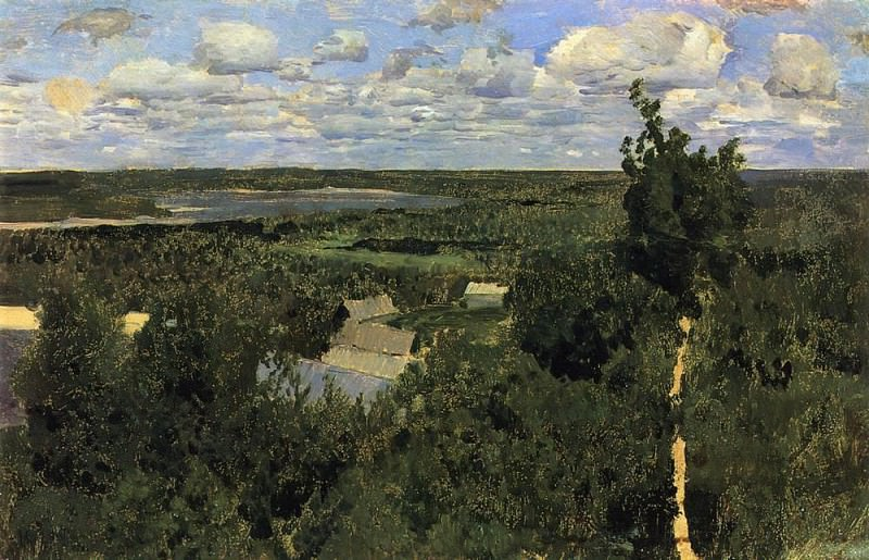 Vasilsursk. 1887. Isaac Ilyich Levitan