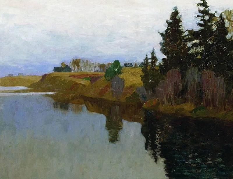 Озеро. 1893. Исаак Ильич Левитан