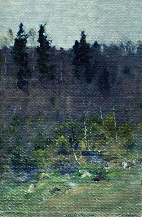 Early spring. Last Snow. Isaac Ilyich Levitan