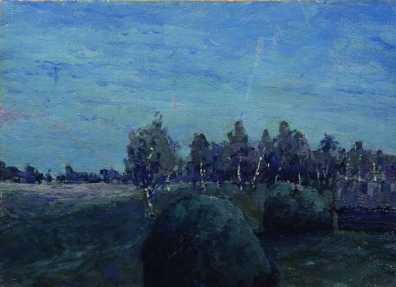 Лунный пейзаж. 1890-е. Исаак Ильич Левитан