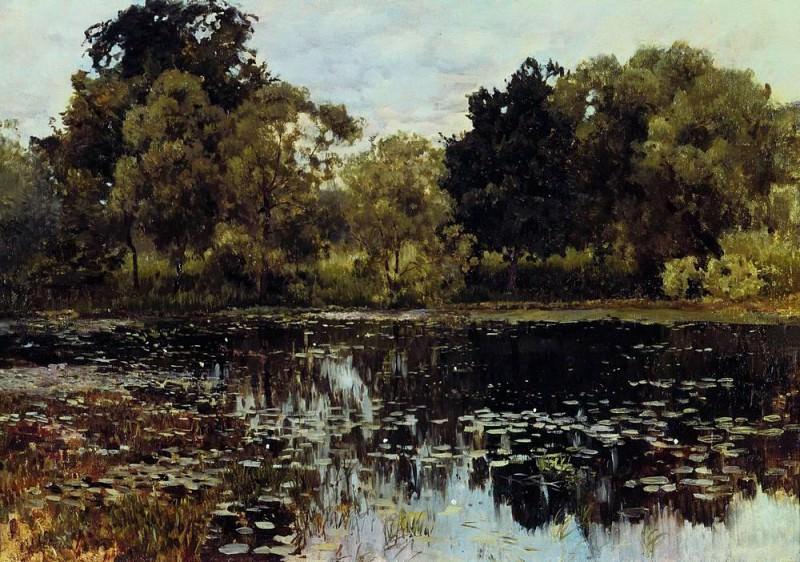 overgrown pond 2. 1887. Isaac Ilyich Levitan