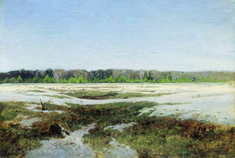 Ранняя весна. 1890-е. Исаак Ильич Левитан