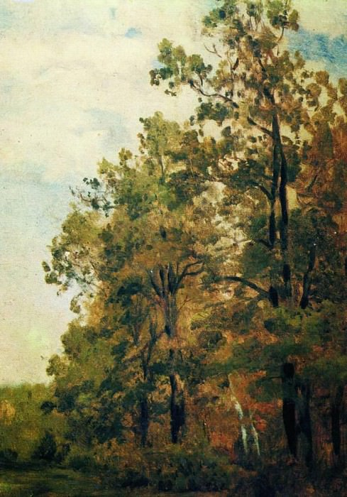 Edge of the Forest. The first half of 1880. Isaac Ilyich Levitan