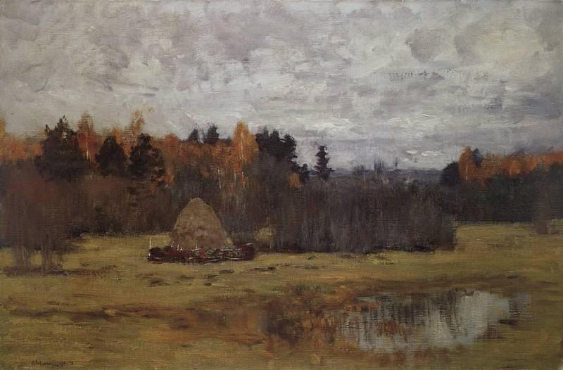 Late autumn. Isaac Ilyich Levitan