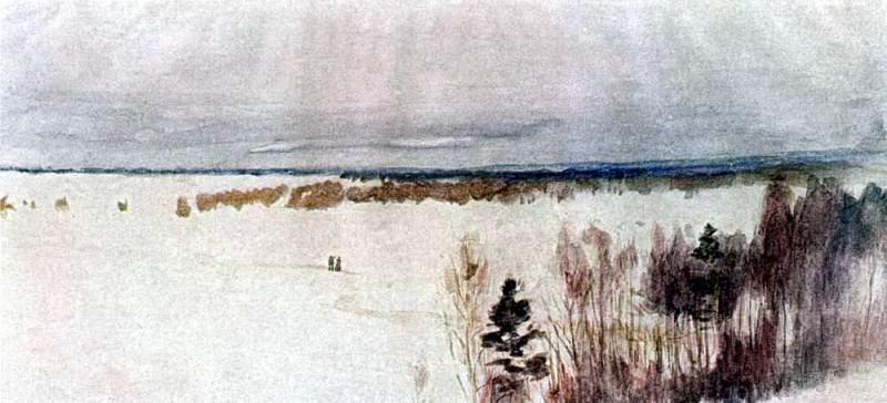 Winter. 1895. Isaac Ilyich Levitan