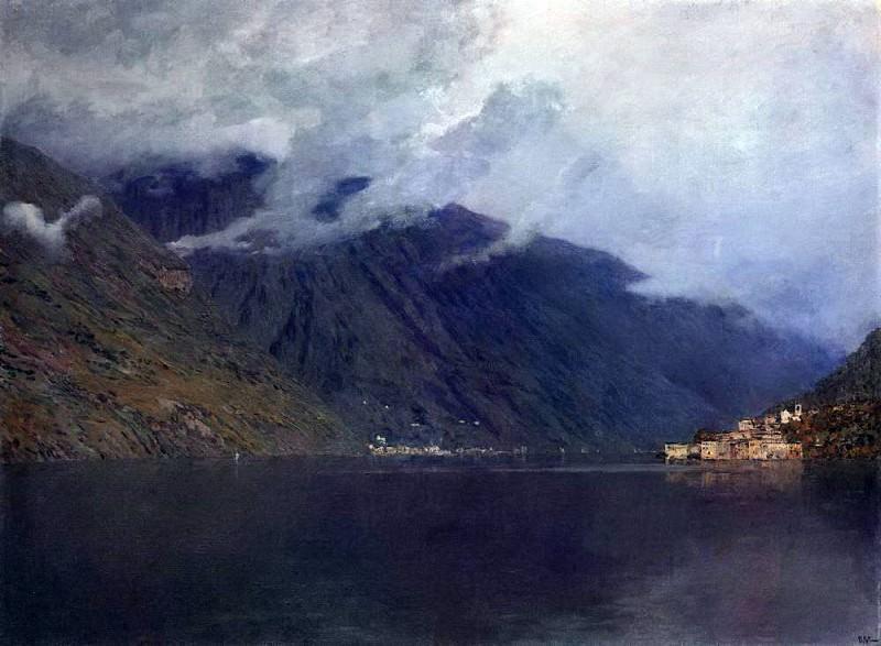Lake Como 3. 1894. Isaac Ilyich Levitan