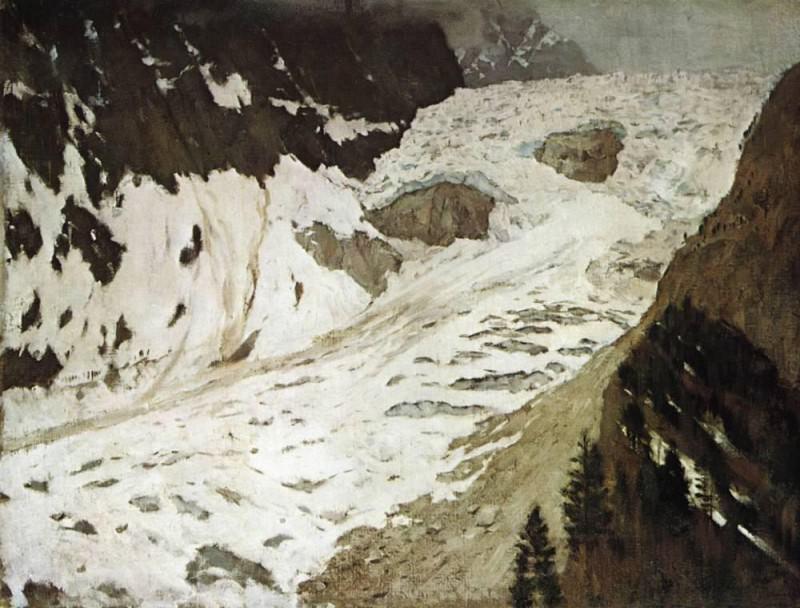Альпы. Снега. 1897. Исаак Ильич Левитан