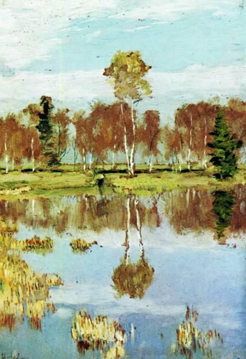 Autumn. 1895. Isaac Ilyich Levitan