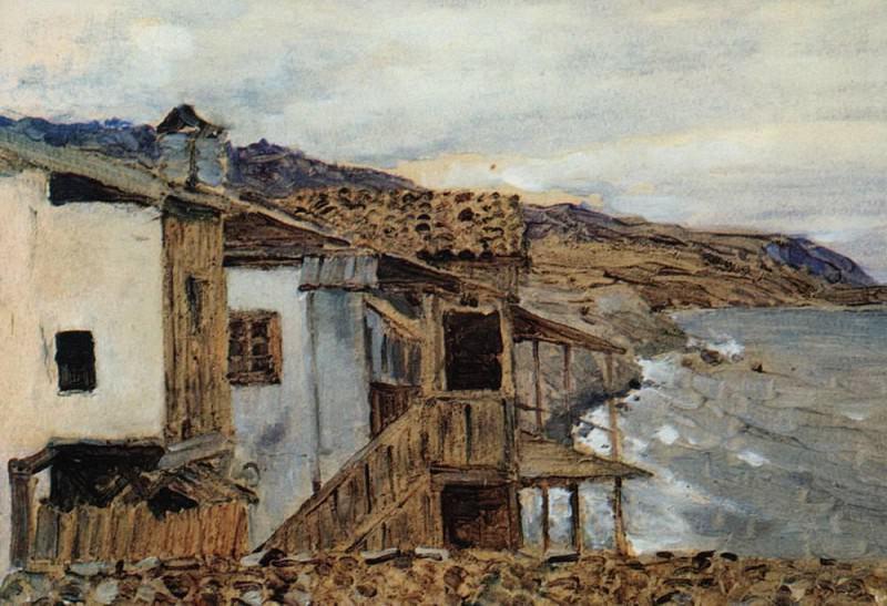 Seaview. 1886. Isaac Ilyich Levitan
