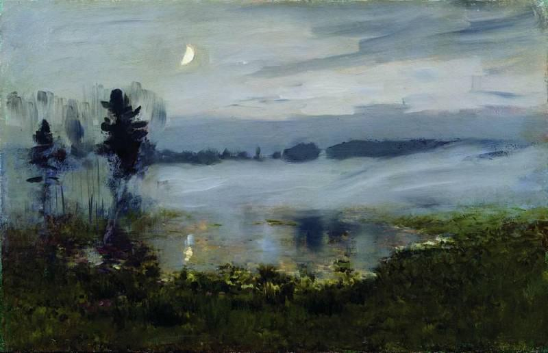 Fog over the water. 1890. Isaac Ilyich Levitan