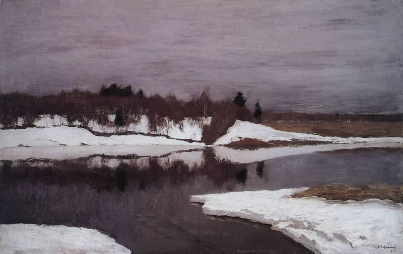 Early spring. 1898. Isaac Ilyich Levitan