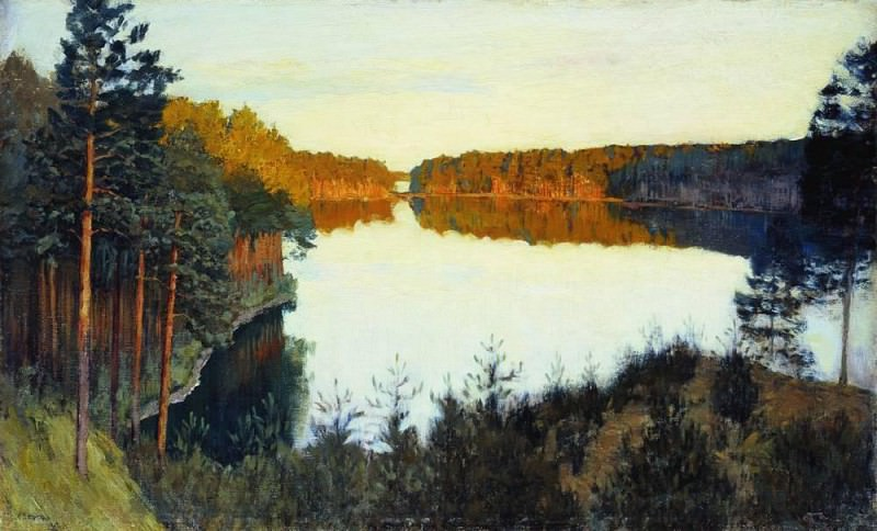 Forest Lake. Isaac Ilyich Levitan