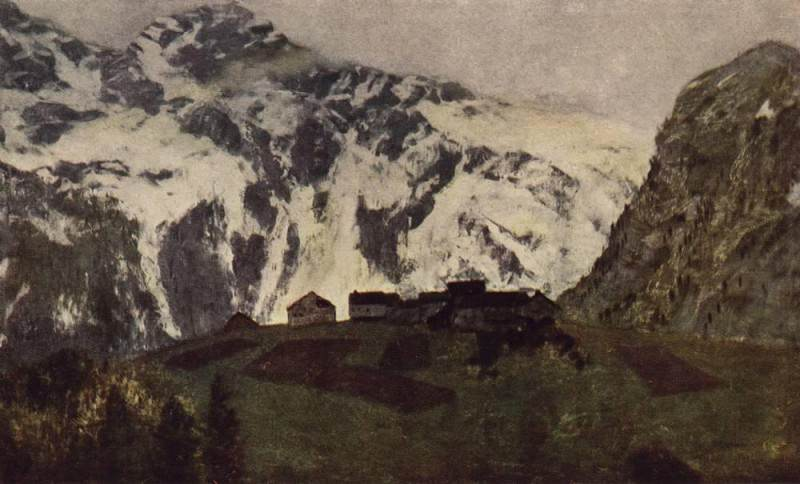 In the Alps. 1897. Isaac Ilyich Levitan