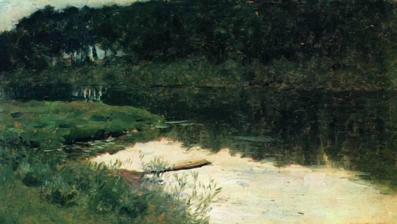 Abramtzevo. 1880. Isaac Ilyich Levitan
