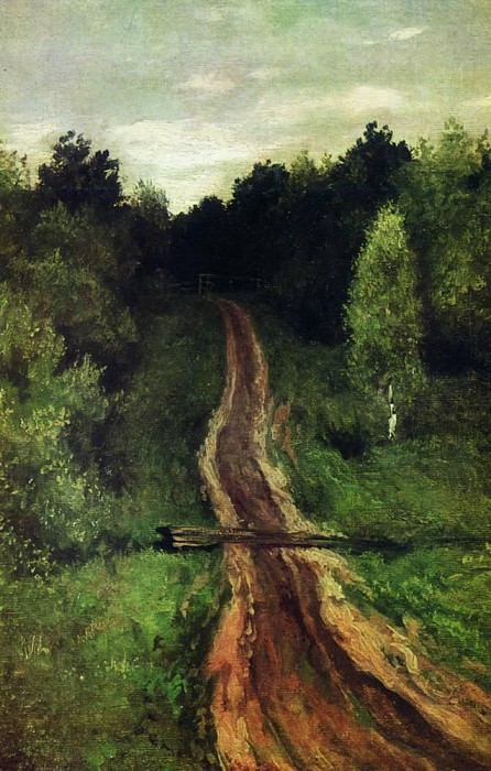 Road. 1899. Isaac Ilyich Levitan