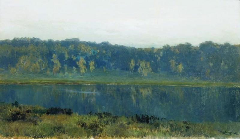 Autumn morning. Fog. 1887. Isaac Ilyich Levitan