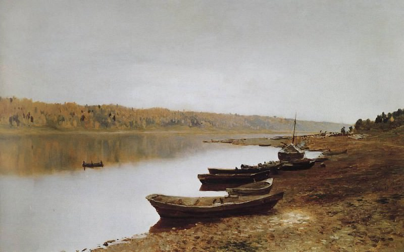 On the Volga. 1887-1888. Isaac Ilyich Levitan