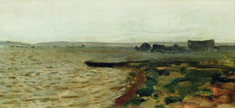 River Bank. Isaac Ilyich Levitan