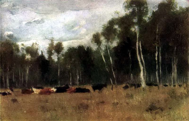 Herd. 1889-1890. Isaac Ilyich Levitan
