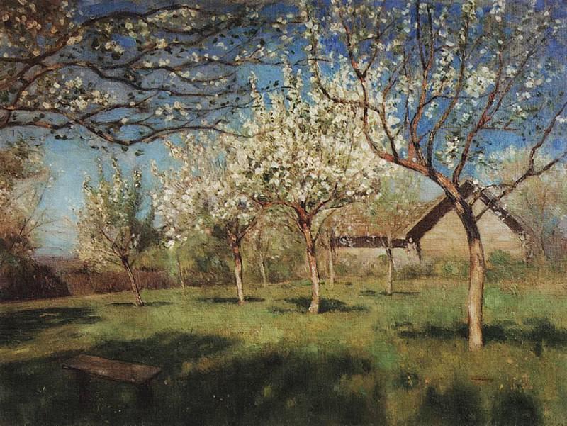 Fine arts 4. 1896. Isaac Ilyich Levitan