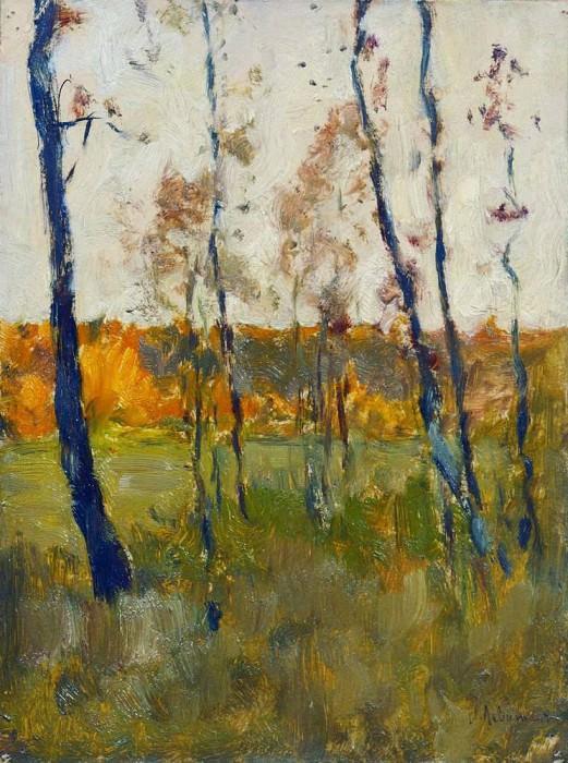Autumn. 1899. Isaac Ilyich Levitan