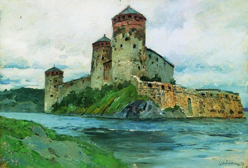 Fortress. Finland. 1896. Isaac Ilyich Levitan