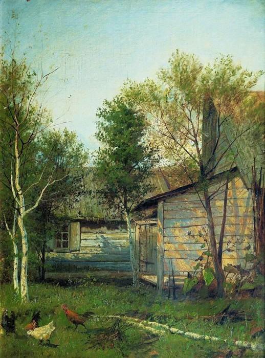 Sunny day. Spring. 1876-1877. Isaac Ilyich Levitan