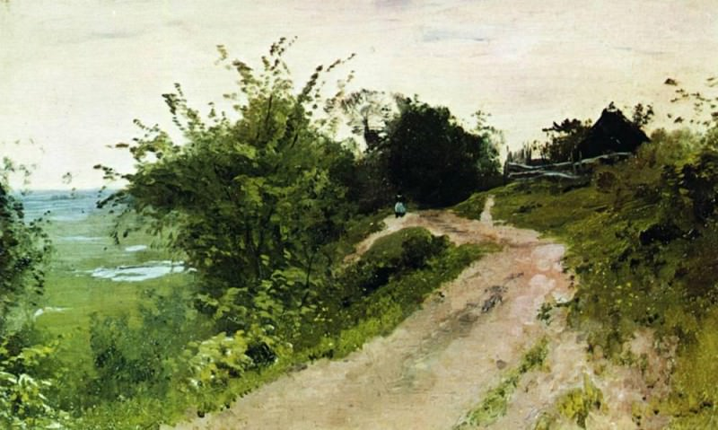 Track. 1877. Isaac Ilyich Levitan