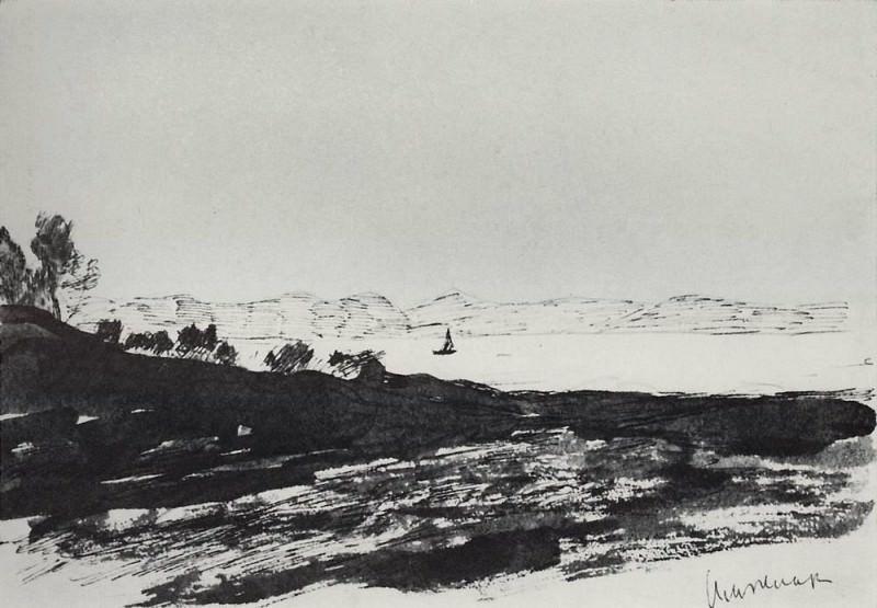 Beach lagoon. 1896. Isaac Ilyich Levitan