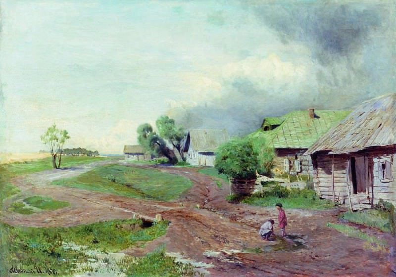 Before the storm. 1879. Isaac Ilyich Levitan