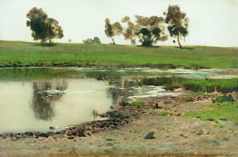 Landscape 1. Isaac Ilyich Levitan