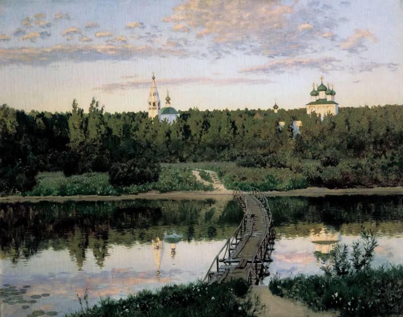 Silent abode 3. 1890. Isaac Ilyich Levitan