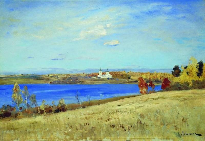 Autumn. River. 1898-1899. Isaac Ilyich Levitan