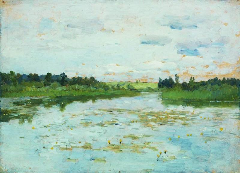 Lake. 1895. Isaac Ilyich Levitan