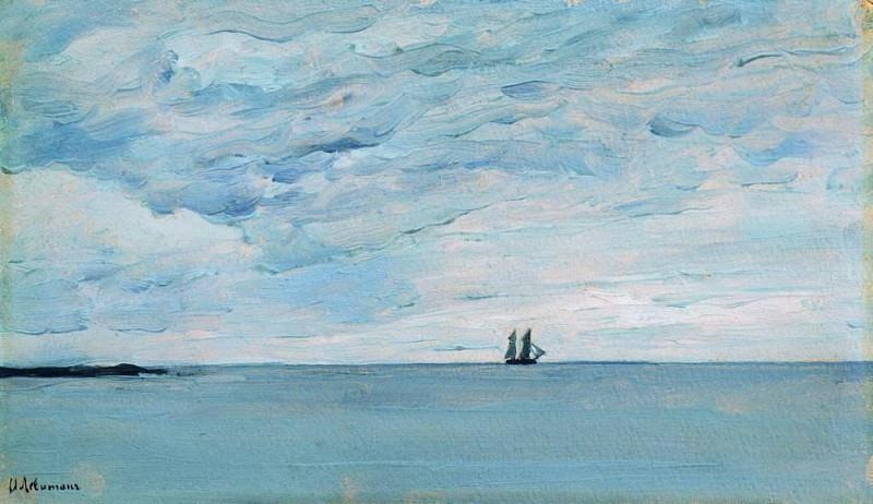Sea near the Finnish coast. 1896. Isaac Ilyich Levitan